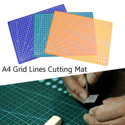 30*22cm A4  Self Healing Cutting Mat Craft Quilting Grid Lines Printed Board
