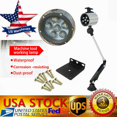 24V 9W Machine Work Lamp LED Waterproof CNC Worklight With 100,000 Hrs
