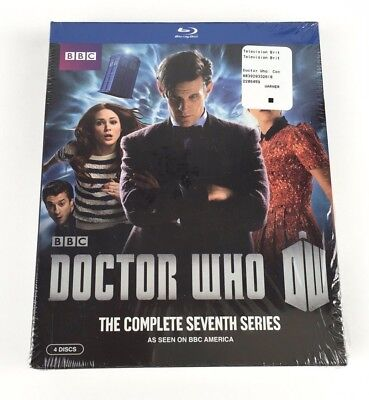 Doctor Who: The Complete Series Seventh Series (Blu-ray Disc, 2013, 4-Disc Set)