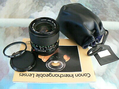 Canon Fd 24Mm F2 Lens Fast Wide Angle Manual Focus *very Rare Fast Wide Angle