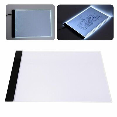 A4 LED Artist Thin Art Stencil Drawing Board Light Box Tracing Table Pad Board