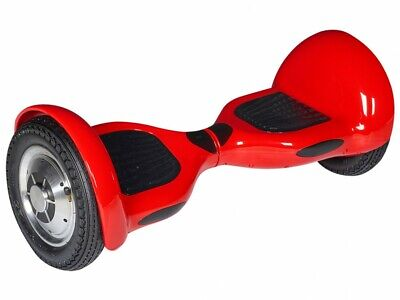 """Gyropode QUICK-RIDE 500W, 12km/h, 10"""", Fonction bluetooth - Rouge"""