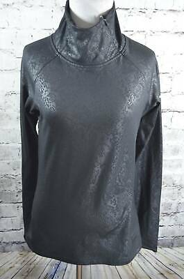5b51e06a595ab NIKE PRO WARM Embossed Heights Vixen Raglan Snake Womens Pullover M ...
