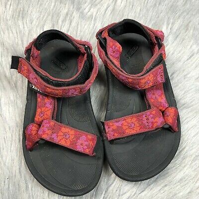 77900f28fce7 Chaco Sandals Z1 Ecotread Beaded Rose Girls Size 11.