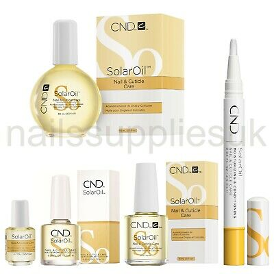 CND Solar Oil Nail & Cuticle Care ALL SIZES MINI 3.7 7.3 15 PRO 68mL & CARE PEN