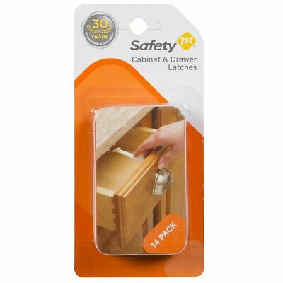 Safety 1st Cabinet and Drawer Latches 14 Pack