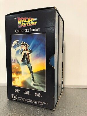 THE BACK TO THE FUTURE COLLECTOR'S EDITION - VHS Tapes in Good Condition