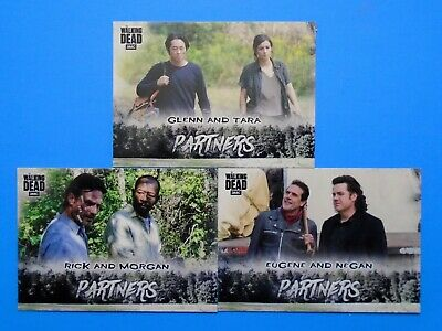 Topps The Walking Dead Hunters & The Hunted Partners Lot P5 P7 P12 Walmart