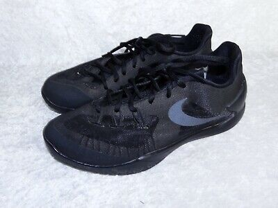 separation shoes 097b6 02b24 Nike Hyperchase 705363-003 size 10 Mens Basketball Sneakers Black Shoes