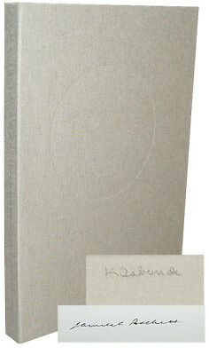 Samuel Beckett / THE LOST ONES Signed 1st Edition 1984