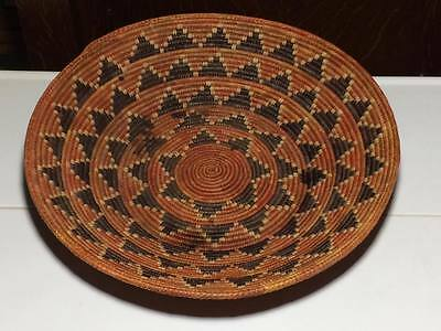 Signed Pac hand woven tray / bowl made in India ?
