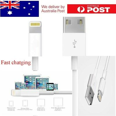 AU Genuine Lightning Fast Charging cable compatible Apple iPhone 5 6 7 S 8 X iPa