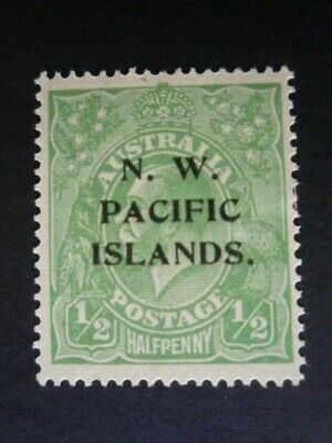 ***AUSTRALIA***NWPI/NEW GUINEA**KGV HEAD***1/2d  LARGE MULTIWMK**WELL CENTERED**