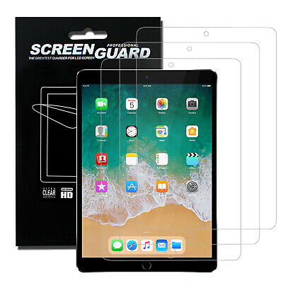 """Flowing PET Film Screen Protector HD Clear - 3Pcs - for Apple iPad 9.7"""" 6th Gen"""