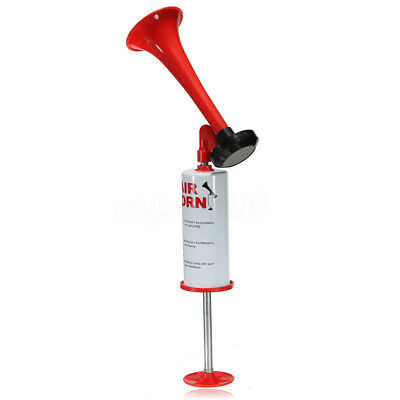 Hand Held Air Horn Portable Pump Loud Noise Maker Safety Parties Sports