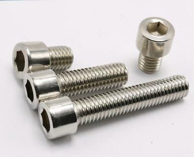Stainless Steel Metric Hex Socket Cap Head Screws Bolt M2,M2.5,M3,M4,M5,M6,M8