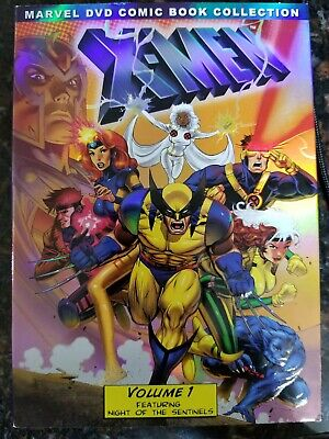 X-Men: Volume 1 One (Marvel DVD Comic Book Collection) New & Sealed w/ Cover