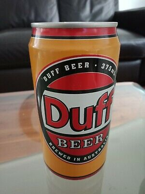 Beer Can Collectables, DUFF Yellow Edition Beer Can Unopened