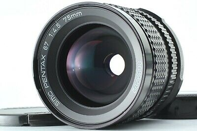 【TOP MINT】PENTAX SMC 75mm F/4.5 Lens Late model For 6x7 67II From JAPAN 81