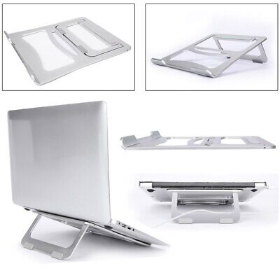 Portable Folding Laptop PC Tablet Stand Cooling Rack Desktop Holder Aluminium OL