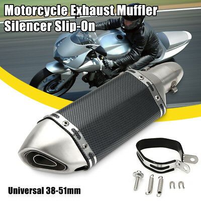 38-51MM UNIVERSAL MOTORCYCLE Street Bike Short Exhaust