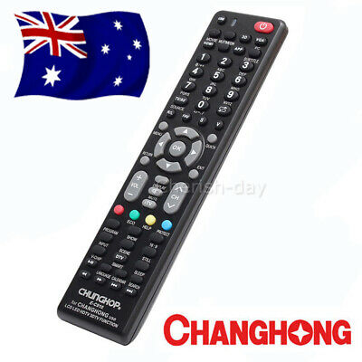 Universal Changhong TV Remote Control Replacement | 3D LCD LED HDTV HD TV OZ