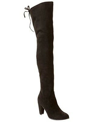 668ee172d12 New Catherine Malandrino Sorcha Suede Tall Over the Knee Boots Size  7.5