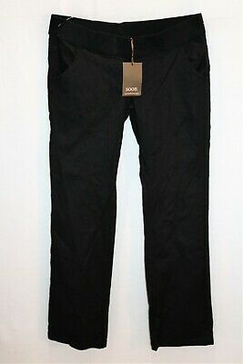 soon Melbourne Maternity Black Under Belly Band Day Pants Size 8 BNWT #SB22
