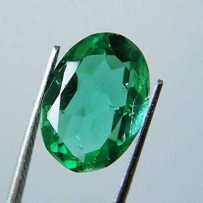 4.85 Ct.Natural Oval Colombian Green Emerald Loose Gemstone A-3478