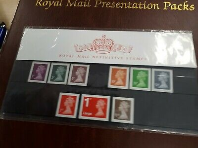 Royal mail Definitive Stamps Pack Number 96
