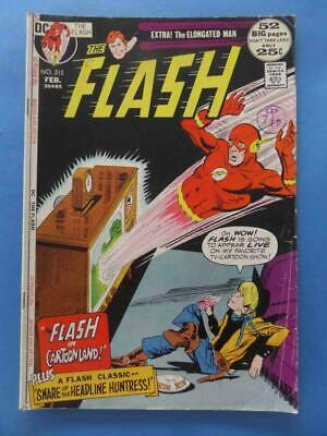 Flash 212 1972 Elongated Man Back Up! 52 Pages!