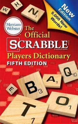 The Official Scrabble Players Dictionary, New 5th Edition mass market, paperback