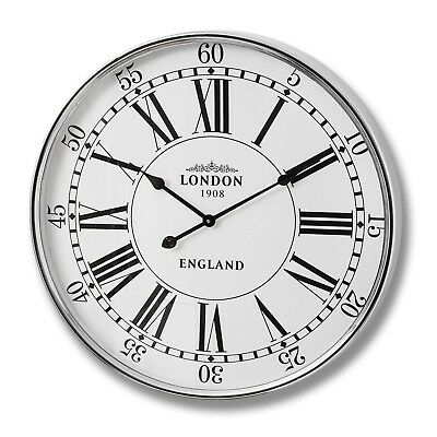 London City Wall Clock - A Great Clean Looking Clock With An Old Style Feel
