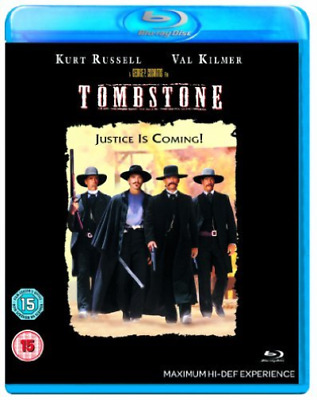 Kurt Russell, Val Kilmer-Tombstone (UK IMPORT) Blu-ray NEW