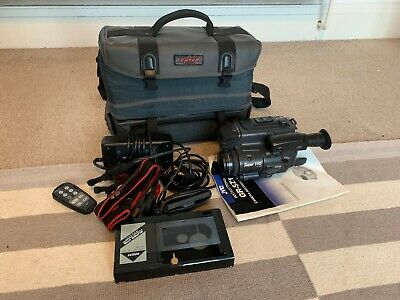 JVC GR-SX1 SVHS Camcorder, with accessories