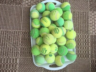30 Used and washed Training tennis balls.. Mixed brands. Slazenger And Karakul.