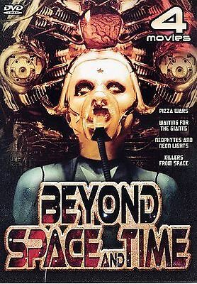 Beyond Space and Time (DVD, 2-Discs) New! ShipsFREE! w/4 Killer Movies!!!
