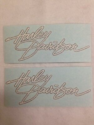 2 Harley Gas Tank Decals Part 13765–00 Dyna 2000 Low Rider Convertible FXDS FXDL