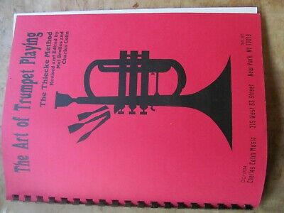 """Trumpet Method Book"""" The Art of Trumpet Playing """""""