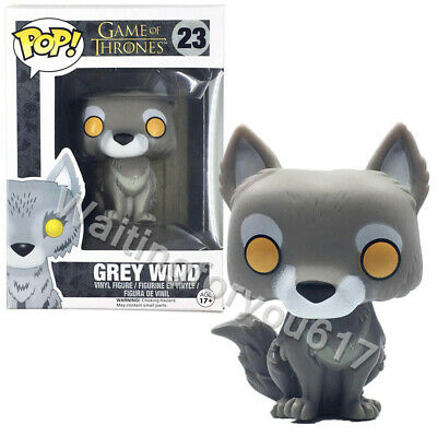 Funko Pop Game of Thrones Grey Wind #23 Vinyl Figure with Protector Box