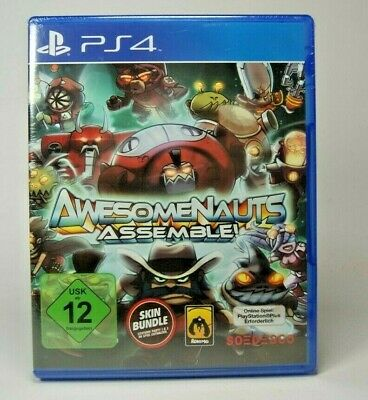 Awesomenauts Assemble (Sony PlayStation 4, 2014, DVD-Box) - PS4 Spiel - Neu