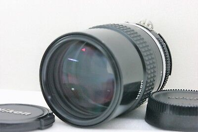 **NEAR MINT** Nikon Ai Nikkor 135mm F/2.8 Telephoto MF Lens From JAPAN