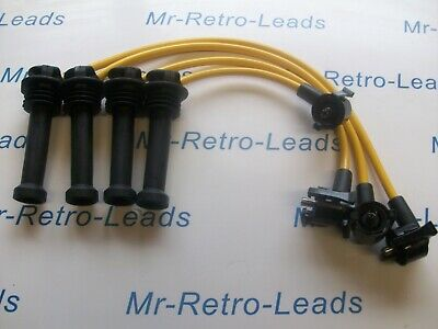 Yellow 8Mm Performance Ignition Leads Indy Zetec Kit Car Gen1 Coil Quality Leads
