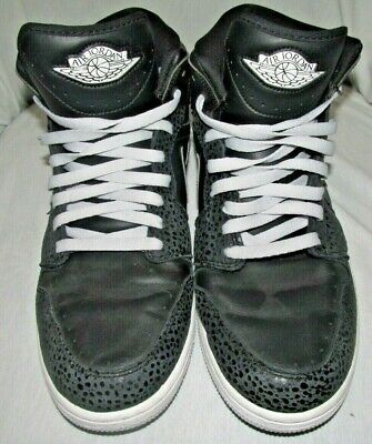 finest selection 9c548 8b97c Nike Air Jordan 1 Retro 86 Basketball Shoes Mens Sz 12 644490-010 Black Lace