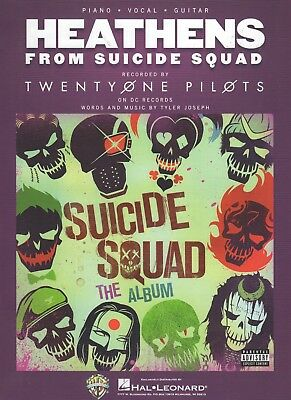 Twenty One Pilots Heathens From Suicide Squad Guitar,Piano,Voice Sheet Music