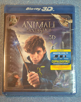 3D Fantastic Beasts and Where to Find Them 3D Bluray EU Import plays in English