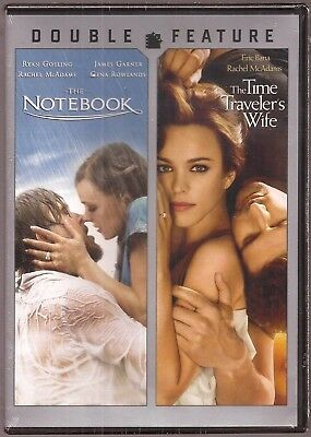 The Notebook & The Time Traveler's Wife DVD Double Feature BRAND NEW