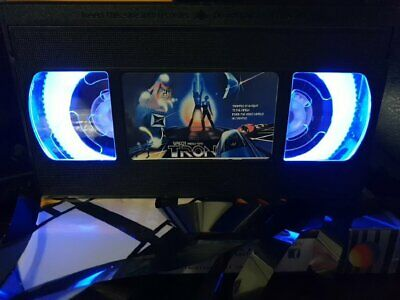 Retro VHS Lamp,Tron,Night Light Stunning Collectable, Top Quality!Amazing Gift