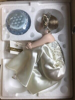 Franklin Mint Diana Portrait Of A Princess Limited Porcelain Doll COA