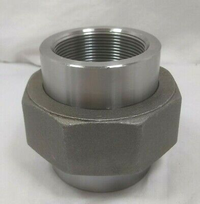 """2"""" Stainless Steel, Forged Threaded Union  3000 Psi Smith Cooper Int- 304"""